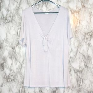 In Every Story Knotted Front Top